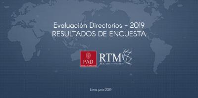 Evaluación Directorios 2019 Resultados De Encuesta Consultoría de Negocios